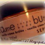 Sephora masło do ciała Vanilia Creme Brulee