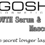 GOSH: Serum stymulujące wzrost rzęs – efekty po prawie 3 tygodniach
