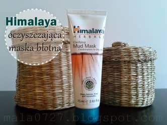 oczyszczająca maska błotna Himalaya
