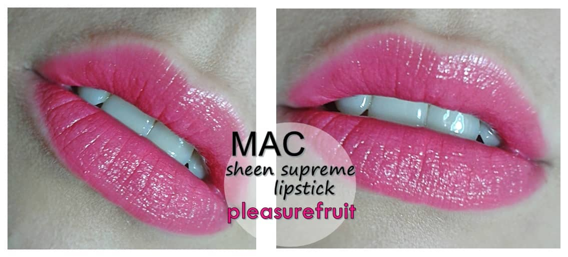 MAC pink lips blog