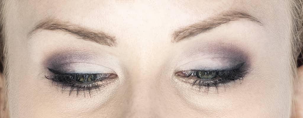 makijaż dla zielonych oczu