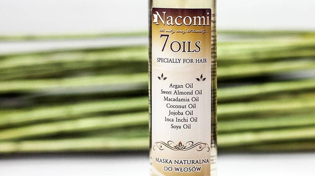 NACOMI Maska do olejowania włosów