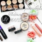 Ulubieńcy marca | Kolorówka Annabelle Minerals, bourjois, Catrice, KOBO, Makeup Revolution, Revlon