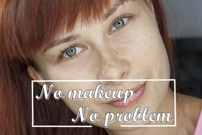 dzień bez makijażu